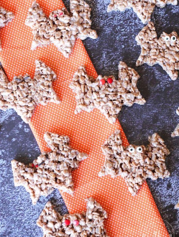 bat shaped rice kripies