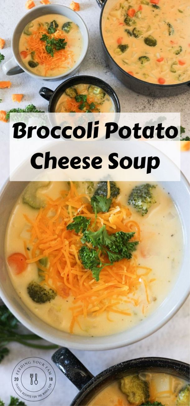 broccoli and potato cheese soup