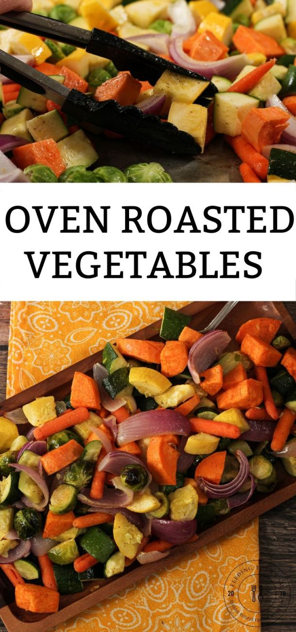 roasted vegetables pin