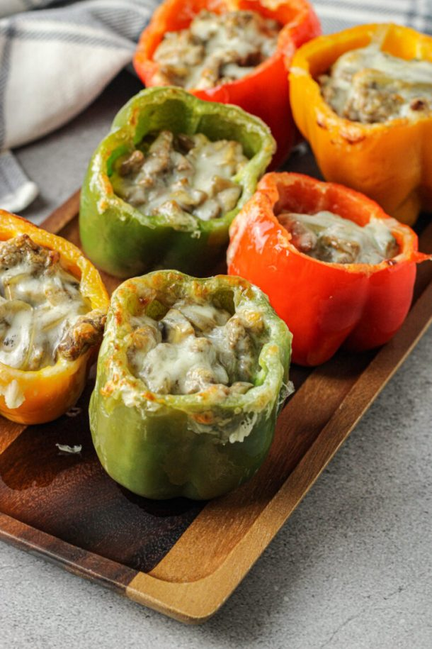 philly stuffed peppers