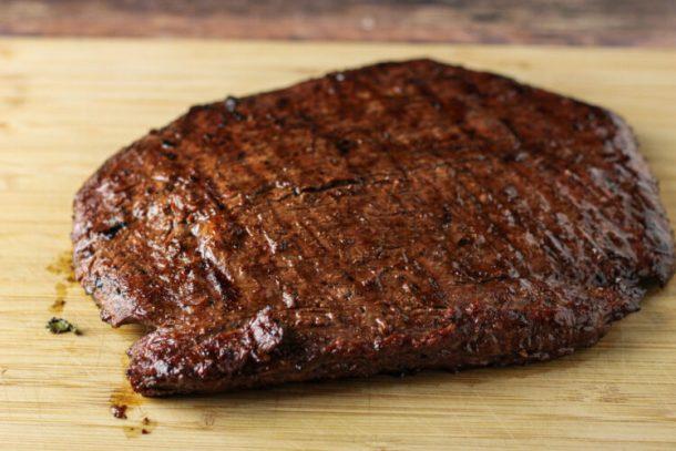 marinaded flank steak