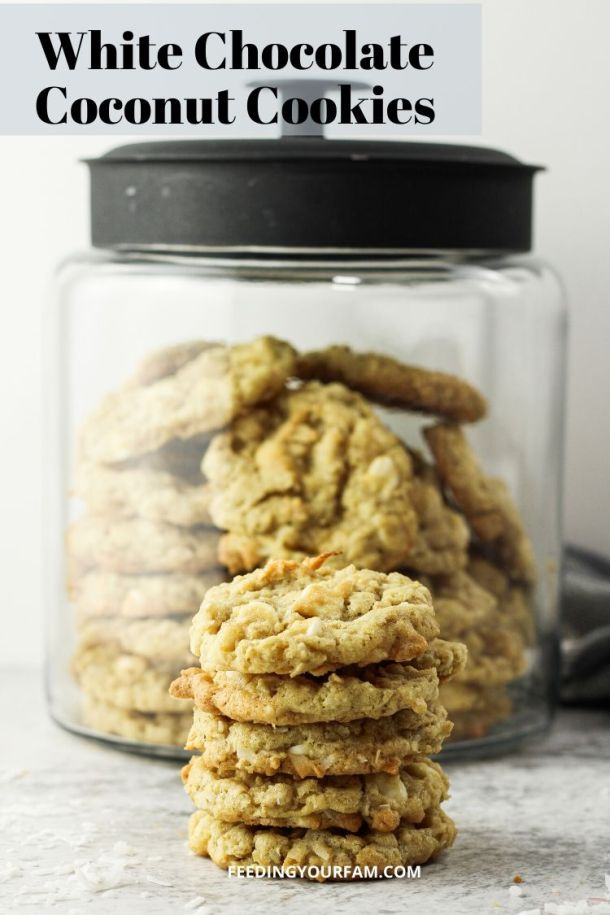 cookies with white chocolate chips and coconut