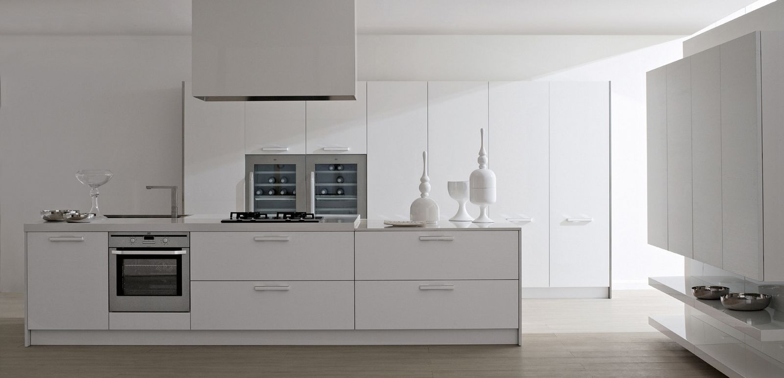 ^ White Modern Kitchens 2015. ideas kitchen luxury kitchen cabinet ...