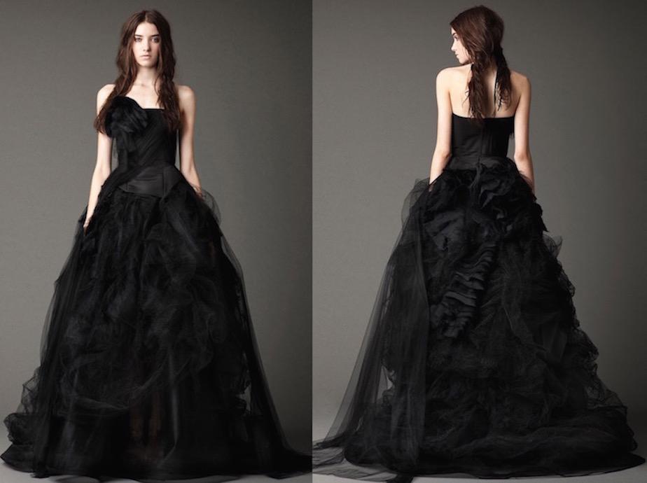 20 Amazing Black Wedding Dresses