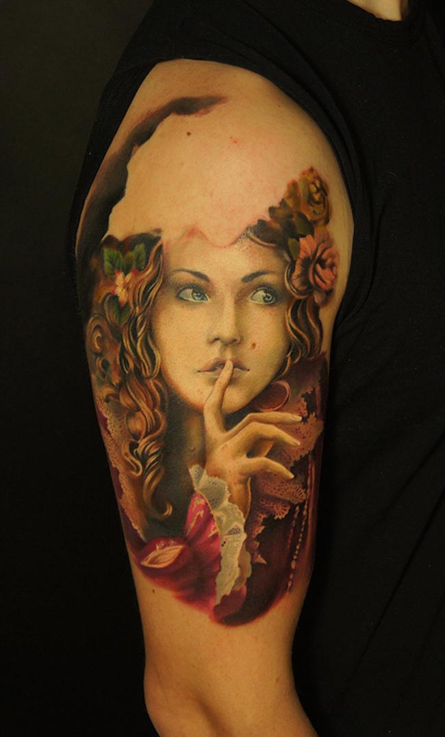 20 Amazing Portrait Tattoo Designs Feed Inspiration