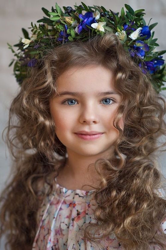 20 Stunning Curly Hairstyles For Kids Feed Inspiration