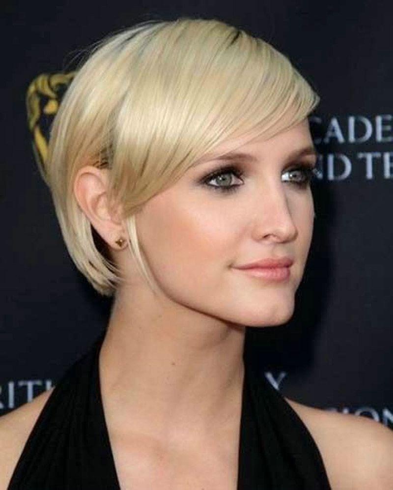 Short Length Hairstyles For Fine Straight Hair Amathair Co