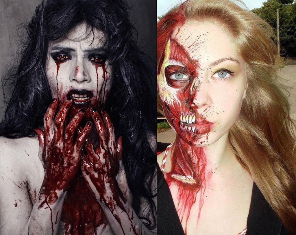 17 Amazing Bloody Halloween Makeup Ideas Feed Inspiration