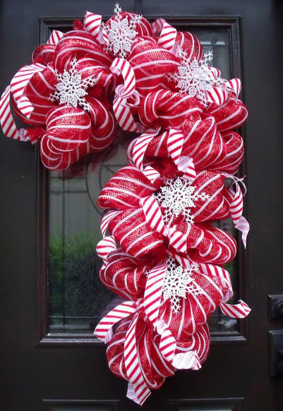 23 Candy Cane Christmas Decor Ideas For Your Home Feed