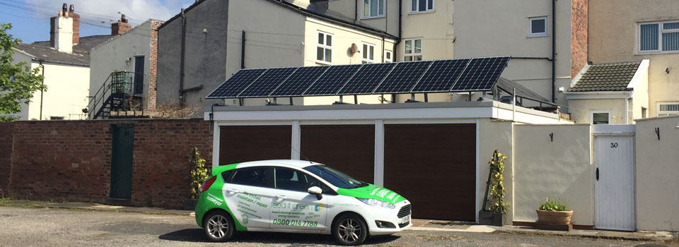 solar panel installations north west