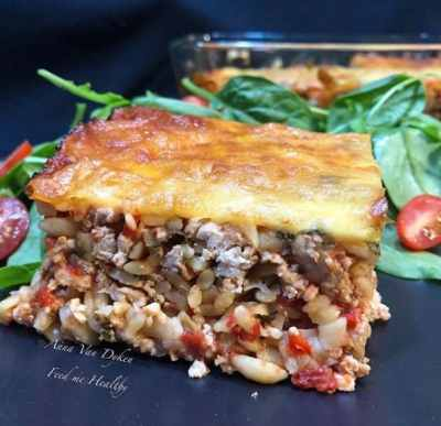 Italian Chicken & Risoni Bake