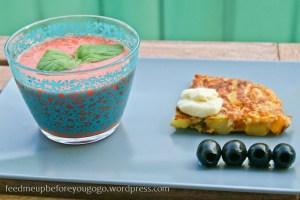 Salmorejo und spanische Tortilla Tapas Rezept