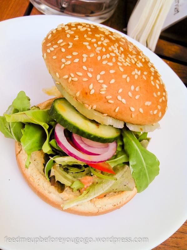 Burger essen in München Ca-Ba-Lu Restaurant