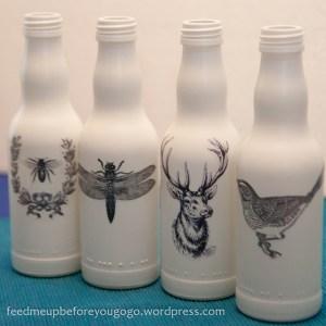 Flaschen dekorieren