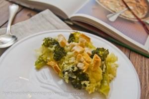 Risotto aus dem Ofen mit Brokkoli