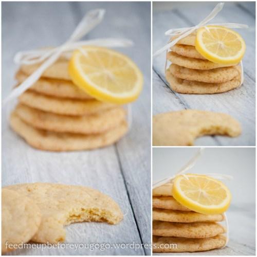 Zitronenkekse mit Vanille und weißer Schokolade-4