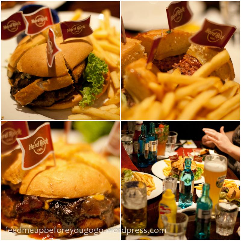 Hard Rock Cafe Veggie Burger
