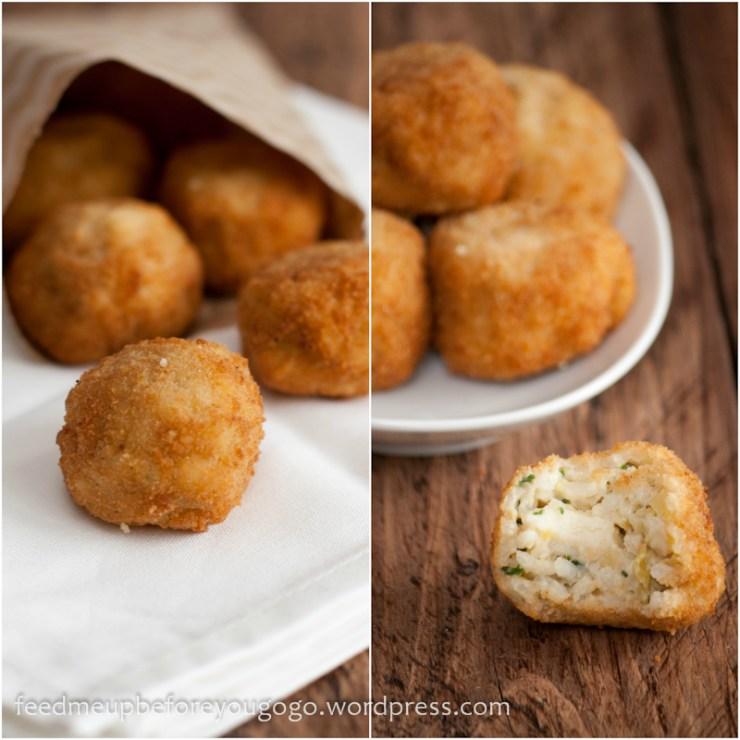 Risottobällchen mit Kräutern und Parmesan aus Königlich und Köstlich-5