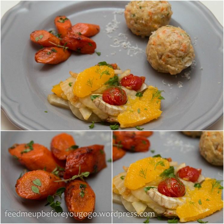 Vegetarisches Menü Rewe Feine Welt-6