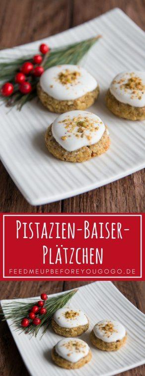 Pistazien-Baiser-Plätzchen Rezept