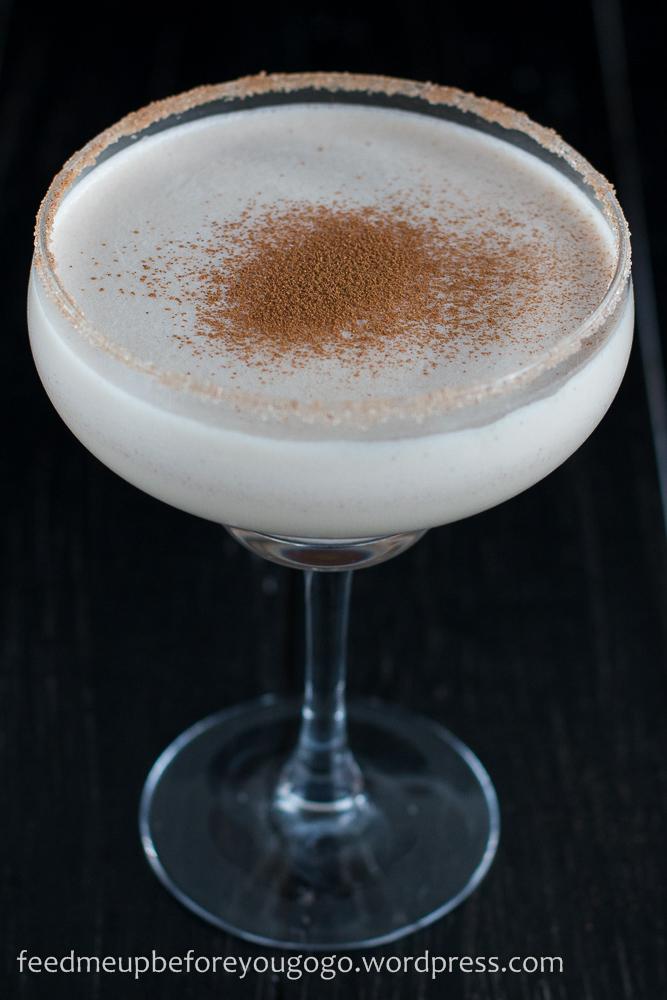 Rum Amaretto Weihnachts Nogg Cocktail-1