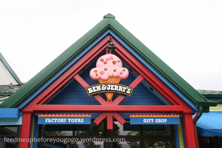 Waterbury Ben & Jerry's Factory Tour Prohibition Pig Feed me up before you go-go-1