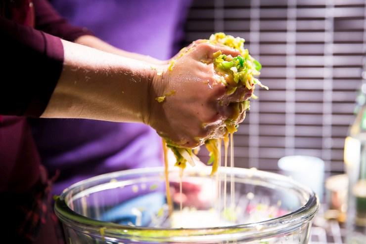 Workshop Gemüse fermentieren im blauen Wunder München Vivi D'Angelo