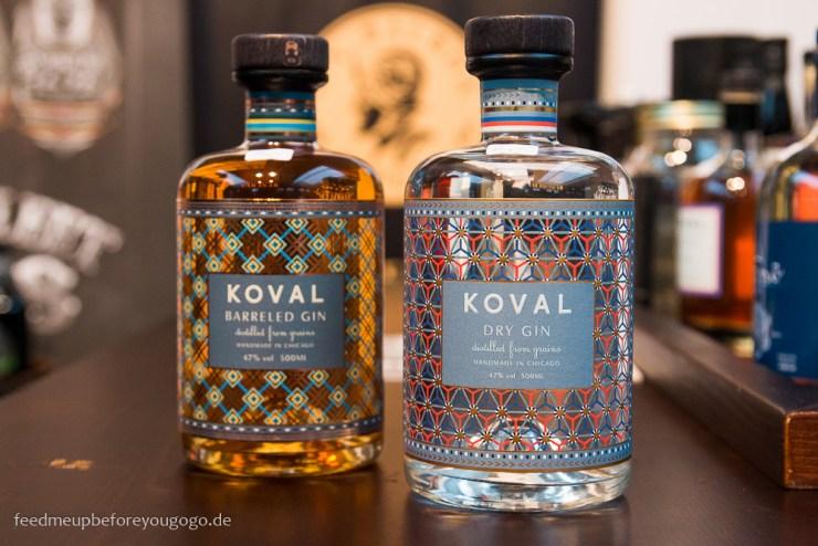 Koval Gin Flasche Finest Spirits