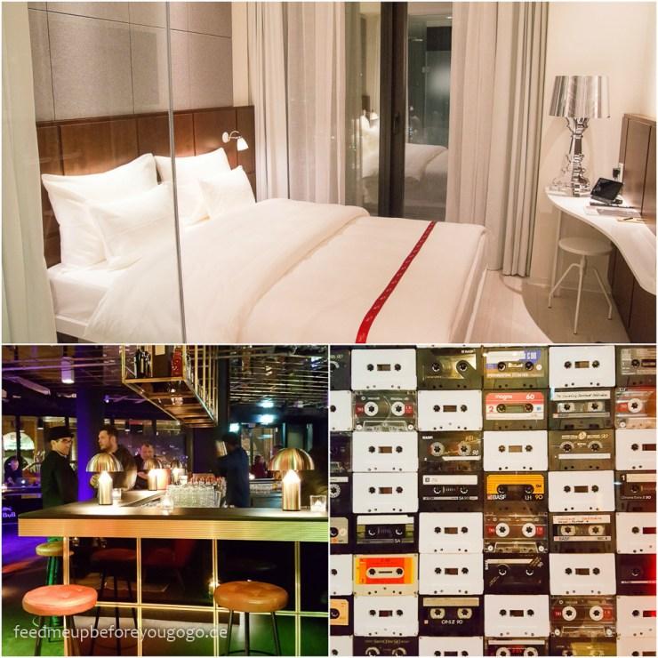 Ruby Lilly Hotel München Eröffnung Zimmer und Bar