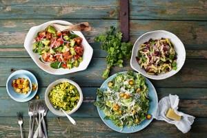 Salate aus USA vegetarisch