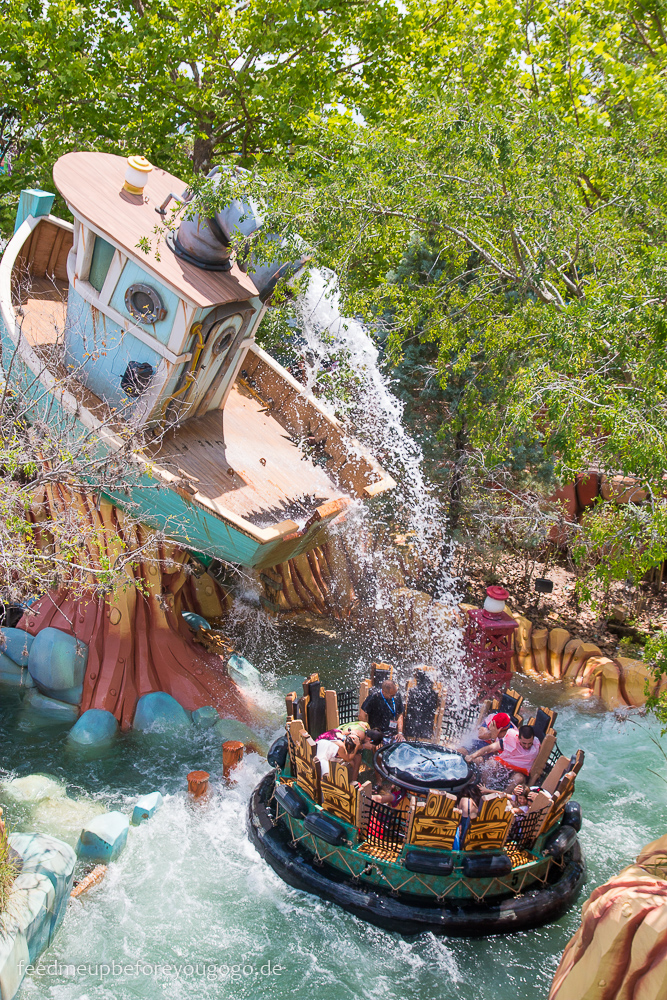 Popeye & Bluto's Bilge-Rat Barges Islands of Adventure Universal Studios Orlando