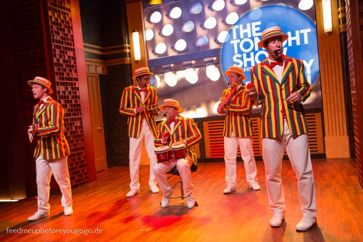 Ragtime Gals Race through New York Jimmy Fallon neuester Ride Universal Studios Orlando