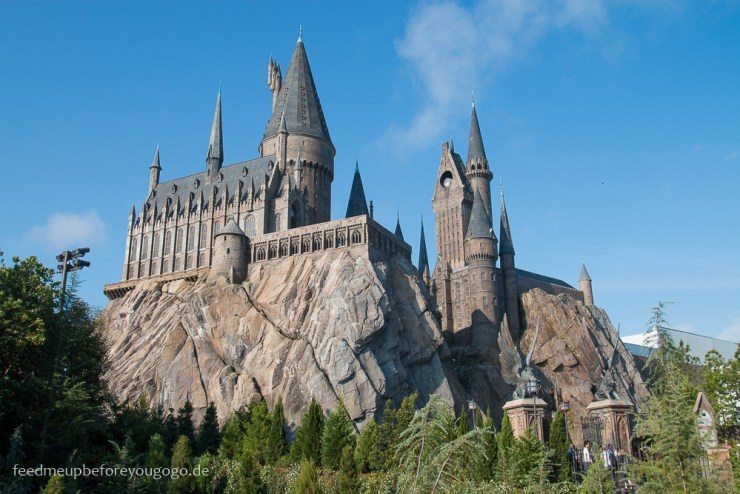 Hogwarts Schloss Hogsmeade Harry Potter Islands of Adventure Universal Studios Orlando