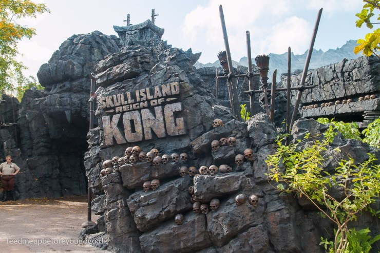 King Kong Skull Island Reign of Kong Islands of Adventure Universal Studios Orlando