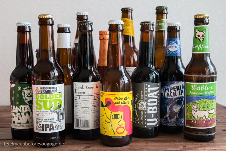 Craft-Beer-Tasting in München