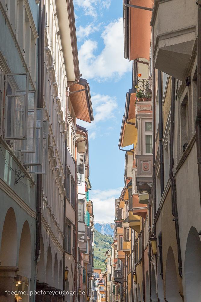 Bozen kulinarisch Innenstadt Südtirol Italien