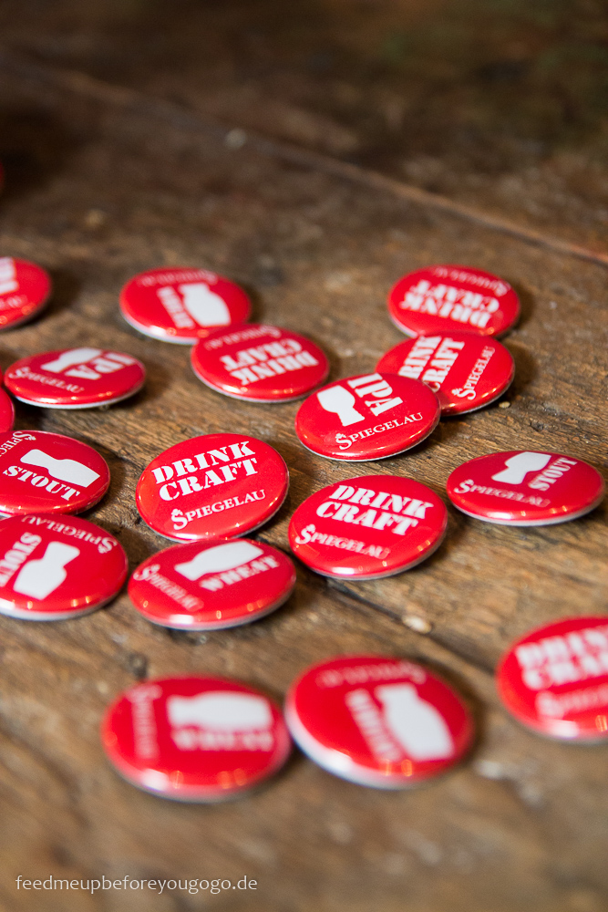 Drink Craft Beer Buttons Spiegelau Bier-Tasting Feed me up before you go-go