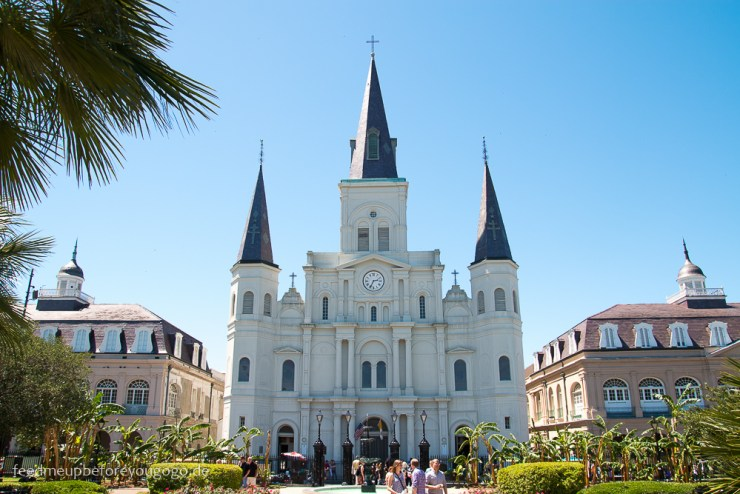 3 Tage in New Orleans St Louis Cathedral Jackson Square