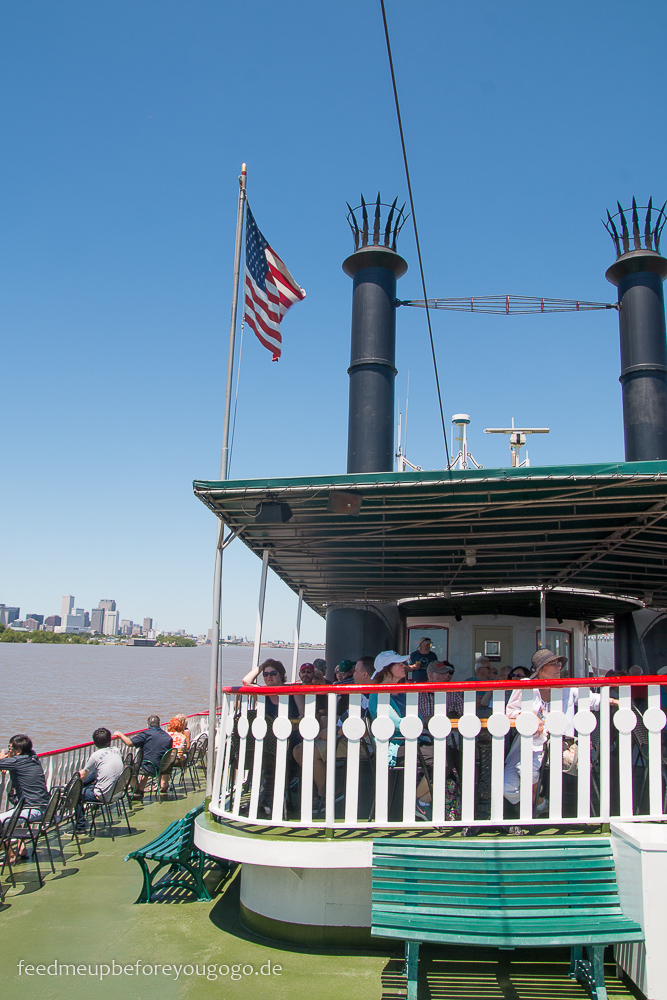 3 Tage in New Orleans Steamboat Natchez Schaufelraddampfer Mississippi