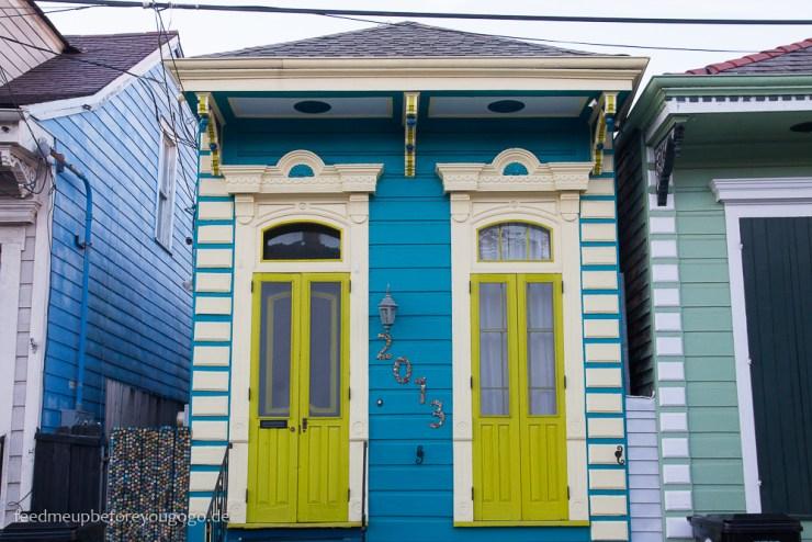 New Orleans buntes Haus kulinarische Tipps Food Guide