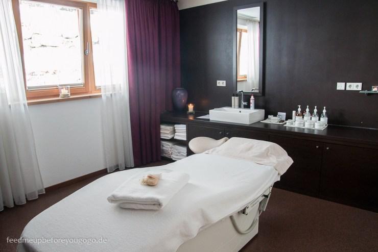 Das Kronthaler Hotel Spa Wellness-Anwendung Achenkirch Tirol
