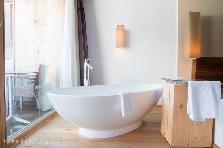 Das Kronthaler Hotel Badewanne Double M Plus Room Achenkirch Tirol