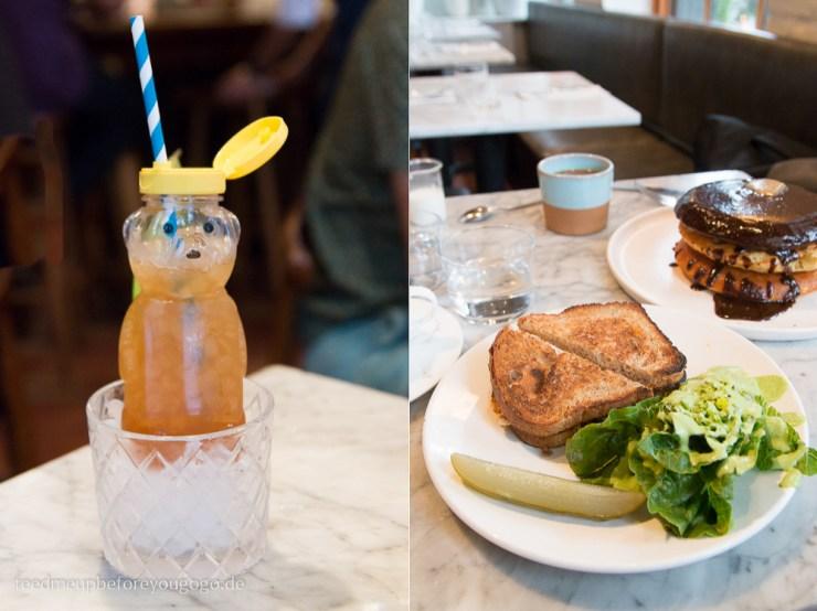 Havana Honey Bear Cocktail Sunday in Brooklyn Williamsburg Brooklyn New York