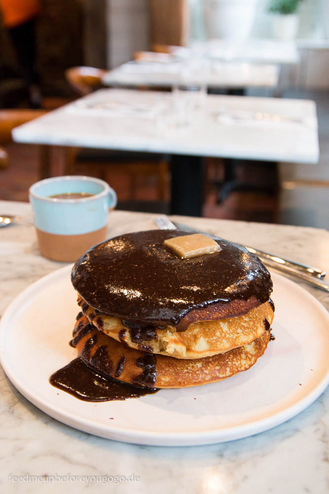 Malted Pancakes Sunday in Brooklyn Williamsburg New York