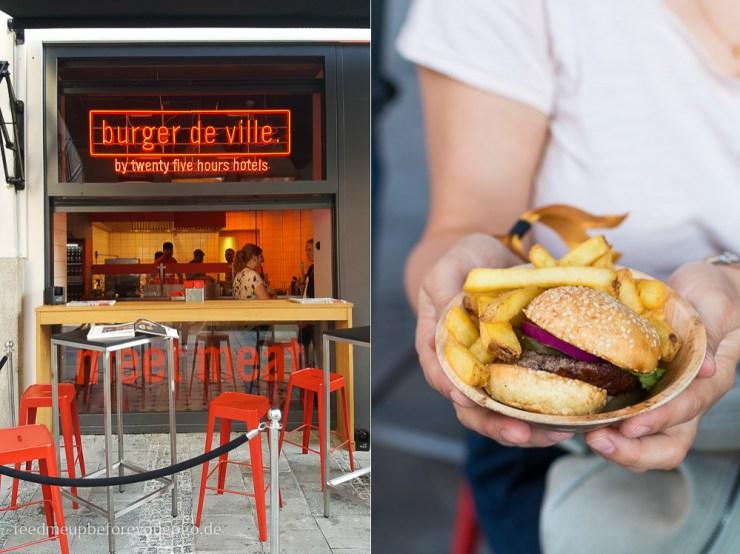 Burger de Ville 25hours Hotel München