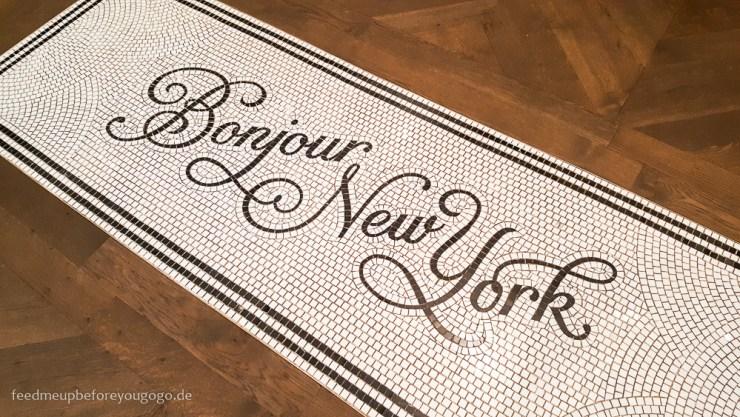 Bonjour New York Mosaik