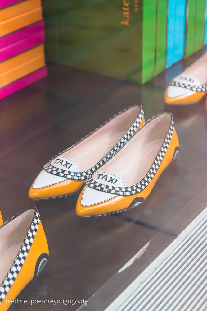 New York Taxi Schuhe Kate Spade Manhattan