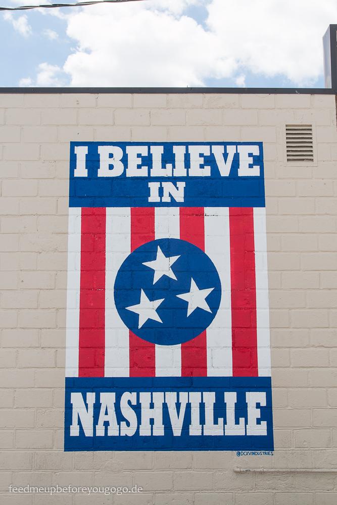 Nashville 12 South I believe in Nashville Mural