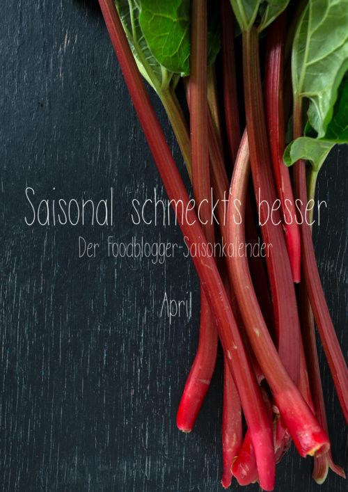 Rezepte Saisonkalender April
