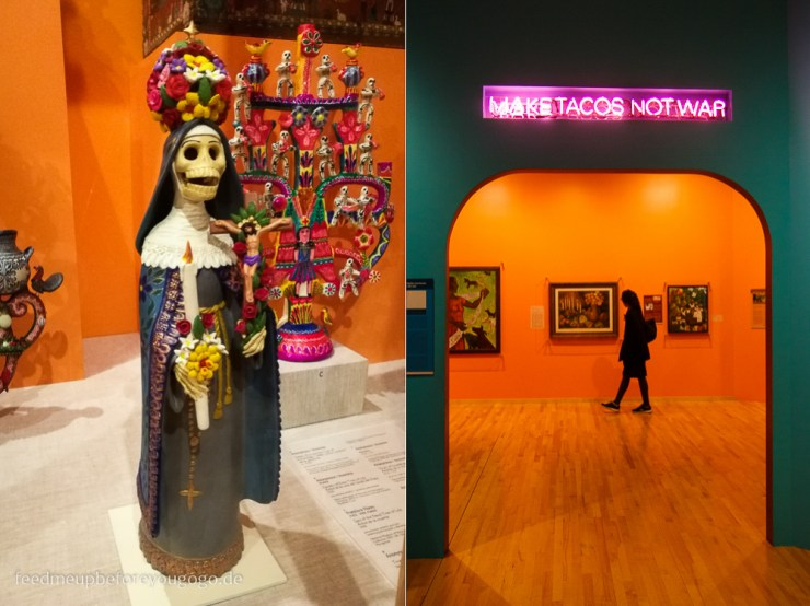 Make Tacos not war National Museum of Mexican Art Chicago Pilsen